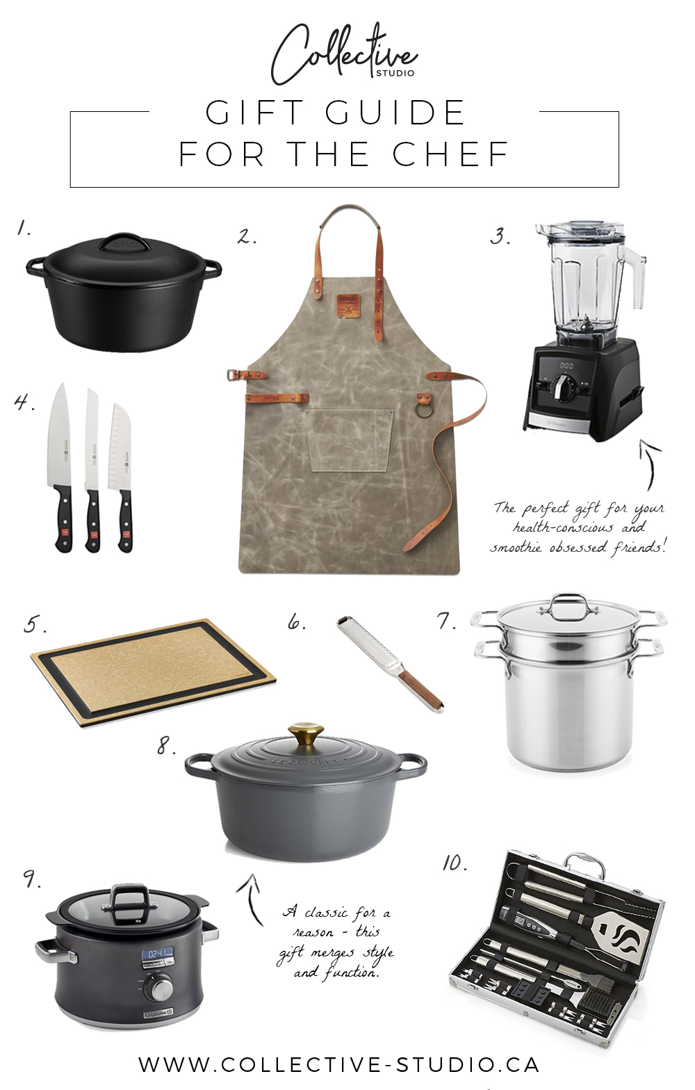 Gift Guide: For The Chef