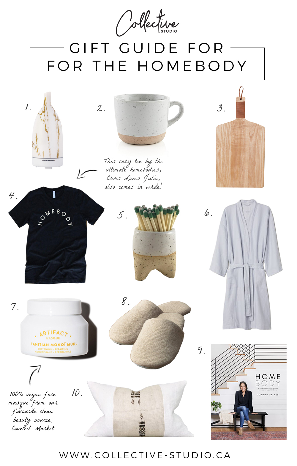 Gift Guide: For The Homebody