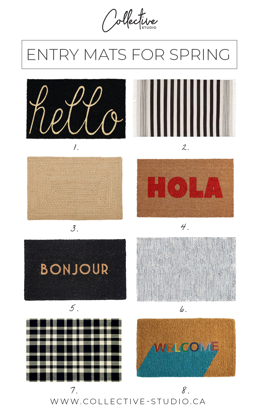 Trend: Entry Mats for Spring